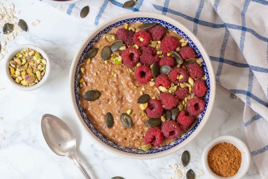 Basic Oatmeal mit Zimt – mein lieblings Grundrezept