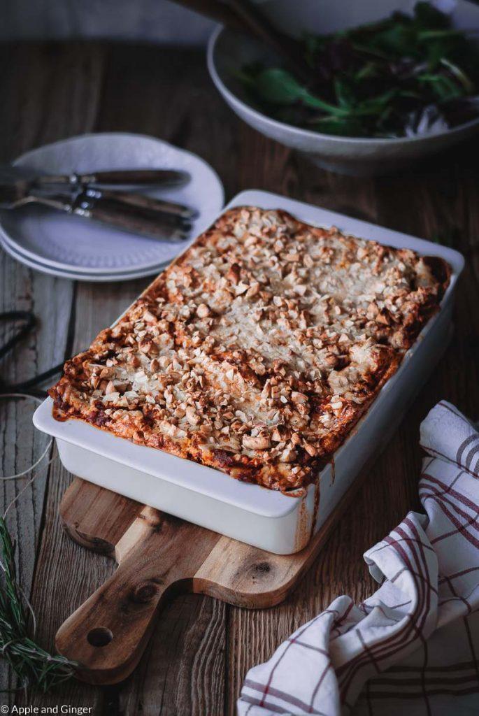 Vegane Lasagne – Frühling im Ayurveda