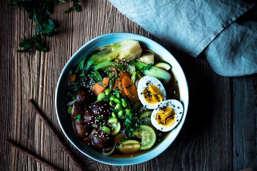 Miso-Ramen-Suppe