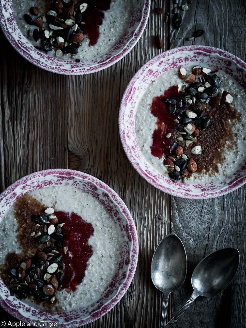Cremiger Frühstücksporridge